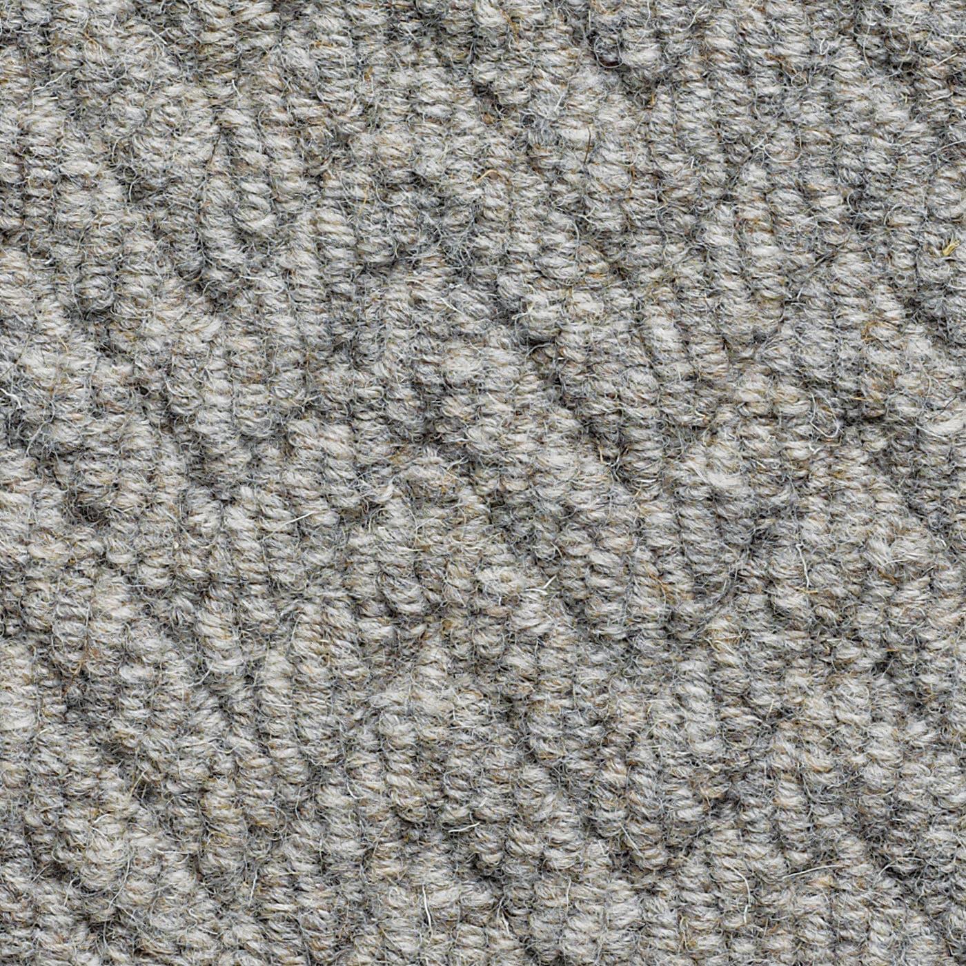 Wool loop carpet